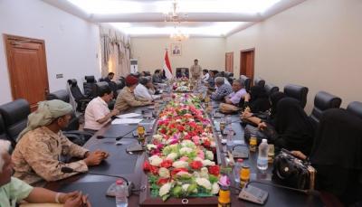 الحكومة توجه بإنشاء محطة بقدرة 30 ميجاوات لمحافظة أبين