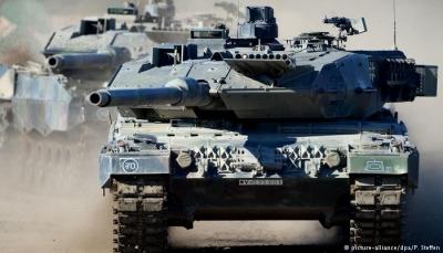 بينها إيران... ألمانيا تعلن ايقاف صادراتها من السلاح لأطراف النزاع في اليمن