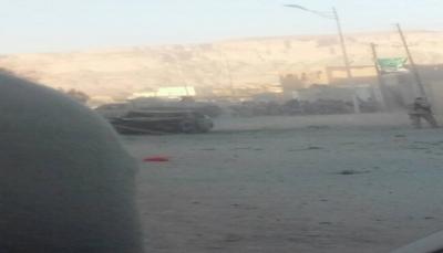إصابة مدني في انفجار  عبوة ناسفة بمدينة سيئون