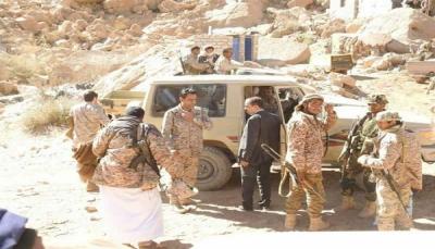 ناطق التحالف العربي يزور جبهة نهم شرق صنعاء لأول مرة