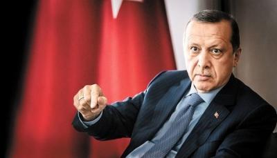 إردوغان يتوعد بالقضاء على القوة المدعومة من أمريكا في سوريا