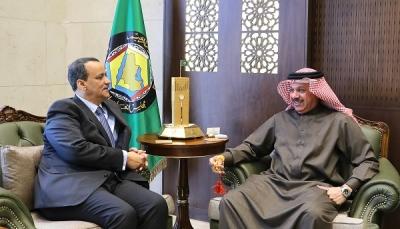 """خلال لقاءه ولد الشيخ.. الزياني يقول""""ان الحل السياسي في اليمن ينبغي ان يستند للمبادرة الخليجية"""""""