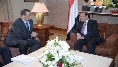 """نائب الرئيس يؤكد التمسك بالمرجعيات ويقول """" إن اليمنيين يخوضون حربا دفاعية"""""""