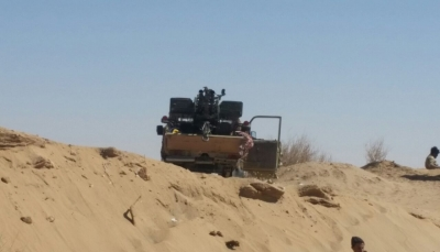 """الجوف: قوات الجيش تسيطر على """"جبل حبش"""" الاستراتيجي بمديرية """"برط العنان"""""""