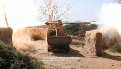 """حجة: مقتل قيادي ميداني لميلشيات الحوثي بمعارك مع قوات الجيش في """"ميدي"""" (صورة)"""