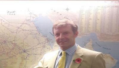 السفير البريطاني باليمن يدعو إلى وقف التصعيد بعدن وحل الخلافات بالحوار