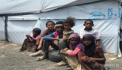 مفوضية اللاجئين: اليمنيون النازحون مؤخراً يواجهون شتاءً قاسياً
