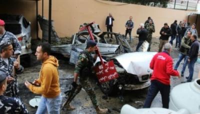 لبنان يؤكد تورط إسرائيل بتفجير استهدف مسؤولاً فلسطينياً في مدينة صيدا
