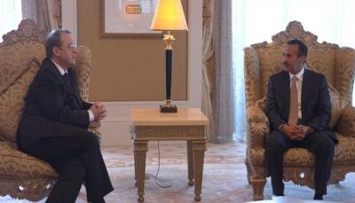 وكالة أنباء الإمارات: مبعوث الرئيس الروسي التقى نجل صالح في أبو ظبي