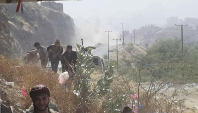 قوات الجيش تتقدم في مواقع جديدة غرب مدينة تعز