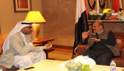 """نائب الرئيس: تواصلت مع """"أحمد علي"""" و""""عمار"""" وحزب المؤتمر يقوده الرئيس هادي (نص الحوار)"""