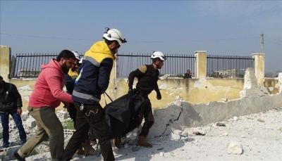 مقتل 15 مدنياً بغارات لقوات النظام في أدلب السورية