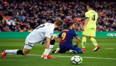 برشلونة يواصل نزيف النقاط بتعادل مخيب مع خيتافي