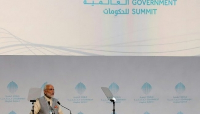 """رئيس الوزراء الهندي يكشف عن نموذج أول """"معبد هندوسي"""" في الإمارات"""