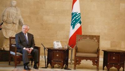 انتظر تيرسلون دقائق بجوار مقعد شاغر.. الرئاسة اللبنانية تنفي أي خروج عن العرف الدبلوماسي