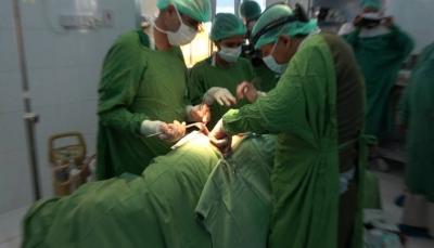 مأرب: تدشين مخيم طبي مجاني لاجراء 150 عملية جراحية في المستشفى العام