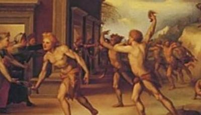 """ضرب النساء في الشوارع والركض عراه.. هكذا كان """"الفلانتاين"""" قديماً"""