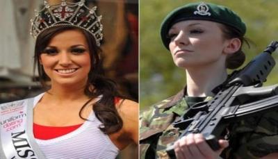 ملكة جمال بريطانية شاركت بحرب العراق تروي ماذا فعل بها زملائها