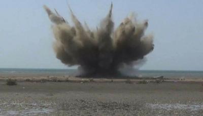 التحالف العربي يعلن تدمير 5 ألغام بحرية زرعها الحوثيون جنوب البحر الأحمر