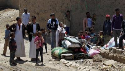 """النازحون في """"اليمن السعيد"""".. أحزان وآلام"""