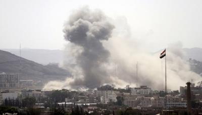 مقاتلات التحالف تشن سلسلة غارات في ثلاث محافظات وتقتل قيادي ميداني حوثي
