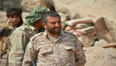 """مقتل قائد عسكري بارز في الجيش الوطني خلال مواجهات مع الحوثيين بـ""""نهم"""""""