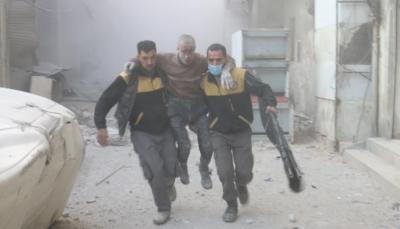 """رغم قرار مجلس الأمن.. قوات النظام السوري تقصف """"الغوطة الشرقية"""" بغاز الكلور السام"""