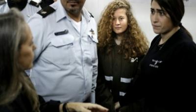 الاحتلال الاسرائيلي يعتقل أحد اقارب الفتاة عهد التميمي