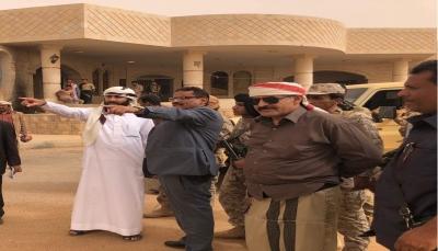 وزير النقل الجبواني يتفقد منفذ الوديعة البري الحدودي