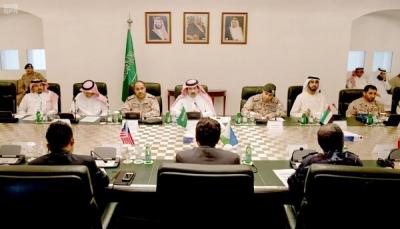 اجتماع للسفراء والملحقين العسكريين لدول التحالف يناقش عمليات استعادة الشرعية في اليمن