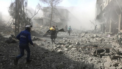 امتناع المدنيين عن الخروج من الغوطة الشرقية في اليوم الثاني من الهدنة