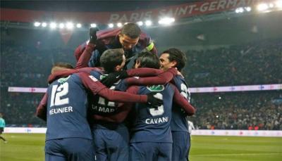 باريس سان جيرمان يطيح بمارسيليا من كأس فرنسا