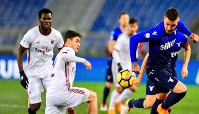 ميلان يهزم لاتسيو ويتأهل لمواجهة يوفنتوس في نهائي كأس إيطاليا