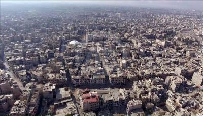وكالة الأناضول تنشر لقطات جوية تظهر حجم الدمار في الغوطة الشرقية (صور)