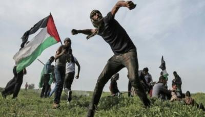اصابة 15 فلسطينيا برصاص الاحتلال الاسرائيلي في مواجهات قرب حدود غزة