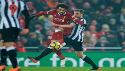هدف محمد صلاح يفتح طريق ليفربول للفوز في الدوري الإنجليزي