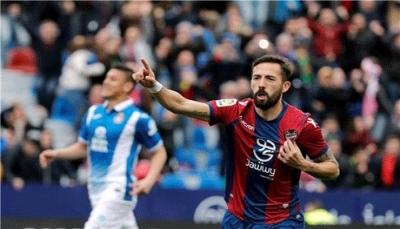 """إسبانيول يقتنص تعادلًا قاتلًا من ليفانتي في """"الليغا"""" في الدوري الأسباني"""