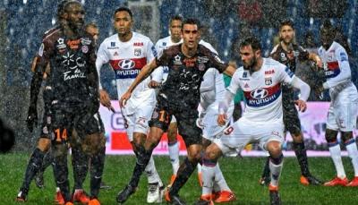 ماريانو دياز ينقذ ليون من الخسارة أمام مونبلييه في الدوري الفرنسي