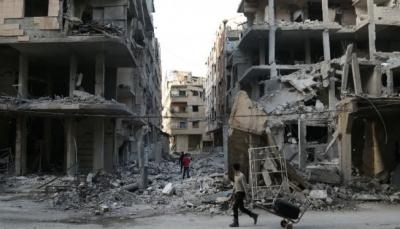 """لافروف يقول """"روسيا ستواصل قصف إدلب"""" واختتام مشاورات حول سوريا في جنيف"""