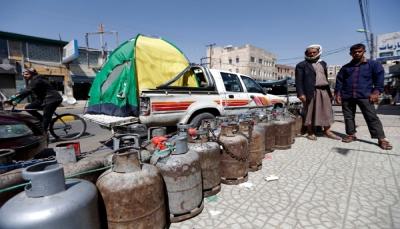 مواطنون يشكون صعوبة الحصول على الغاز المنزلي في صنعاء