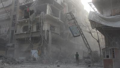 مقتل 38 مدنيا في قصف للنظام السوري وحلفائه على الغوطة الشرقية