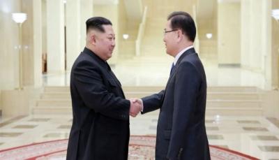 الكوريتان تتفقان على فتح خط مباشر بين زعيميهما وعقد قمة حول الحدود في أبريل