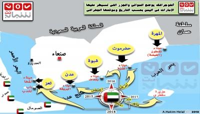 ما الذي تريده الإمارات بالضبط من وراء سيطرتها على السواحل اليمنية؟ (تقرير  خاص+ أنفوجرافكس توضيحي)