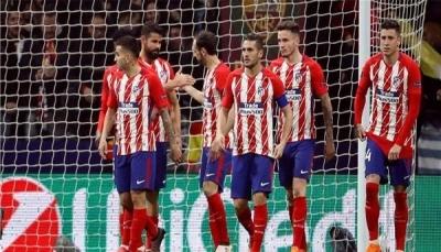 أتلتيكو مدريد يسحق لوكوموتيف بثلاثية في الدوري الأوروبي