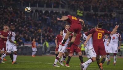 روما يواصل انتصاراته في الكالتشيو بالفوز على تورينيو بثلاثية