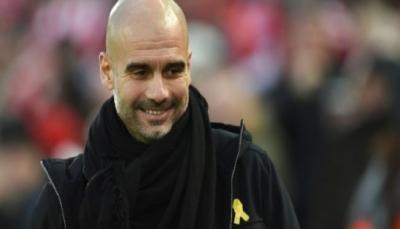 تغريم المدرب الإسباني غوارديولا 20 ألف جنيه بسبب شارة ترمز لإقليم كاتالونيا