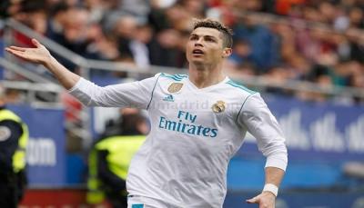 ريال مدريد يفوز على إيبار بهدفي رونالدو