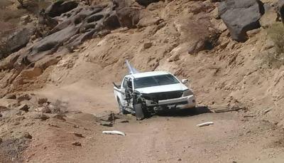 """البيضاء: الحوثيون يستهدفون فريق الهلال الأحمر اثناء نزوله لانتشال جثث قتلاهم بـ""""ناطع"""""""