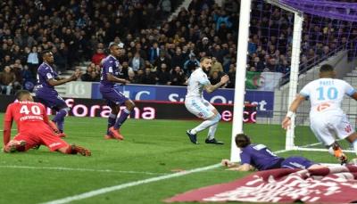 مارسيليا يقتنص فوزا في الدقائق القاتلة أمام تولوز في الدوري الفرنسي