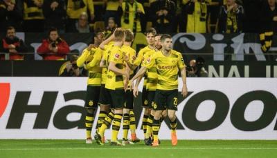 بروسيا دورتموند يعود للانتصارات أمام فرانكفورت